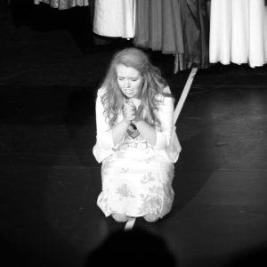 Martiena op het podium